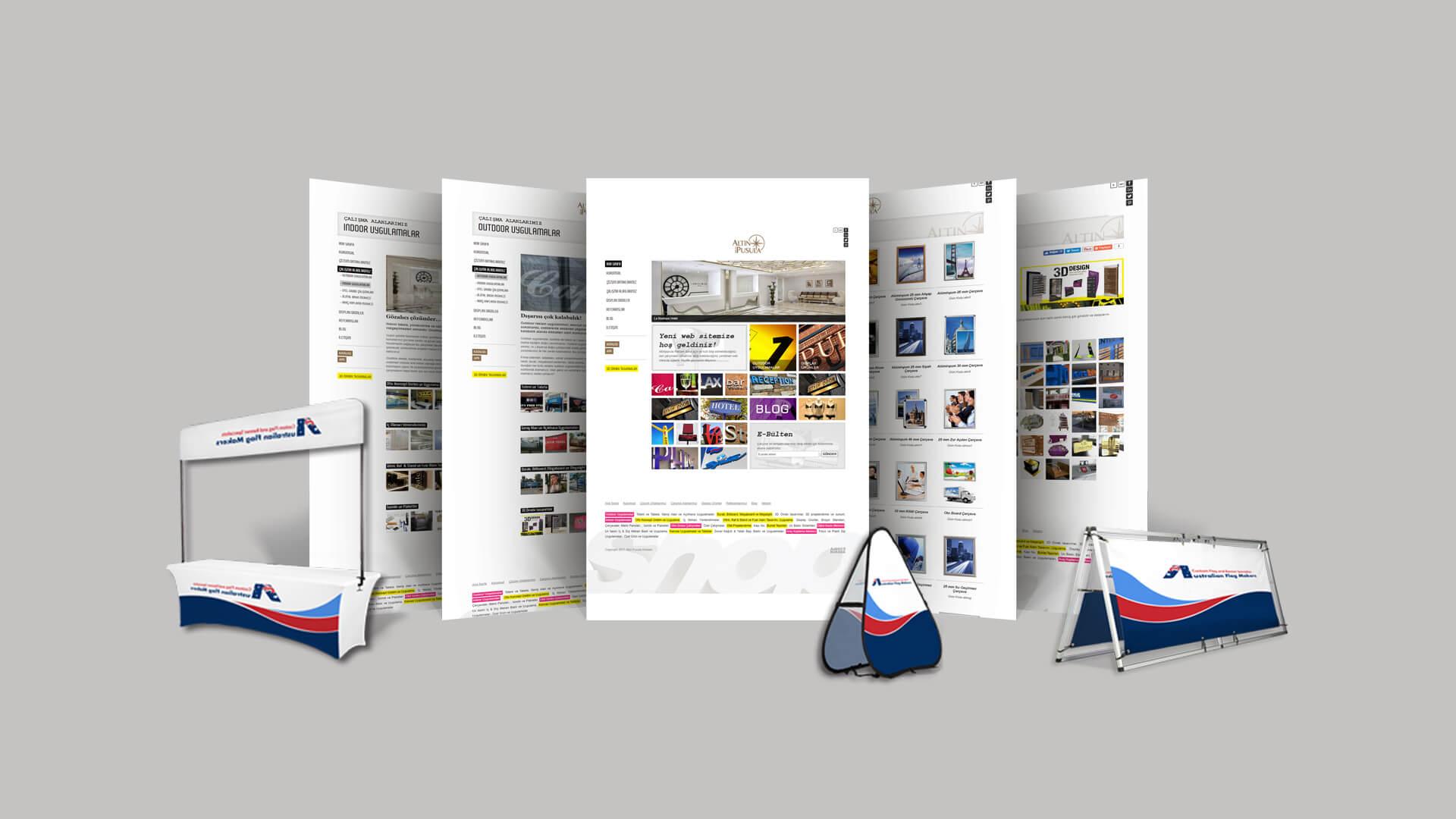 Altın Pusula Reklam / Web Sitesi Tasarımı