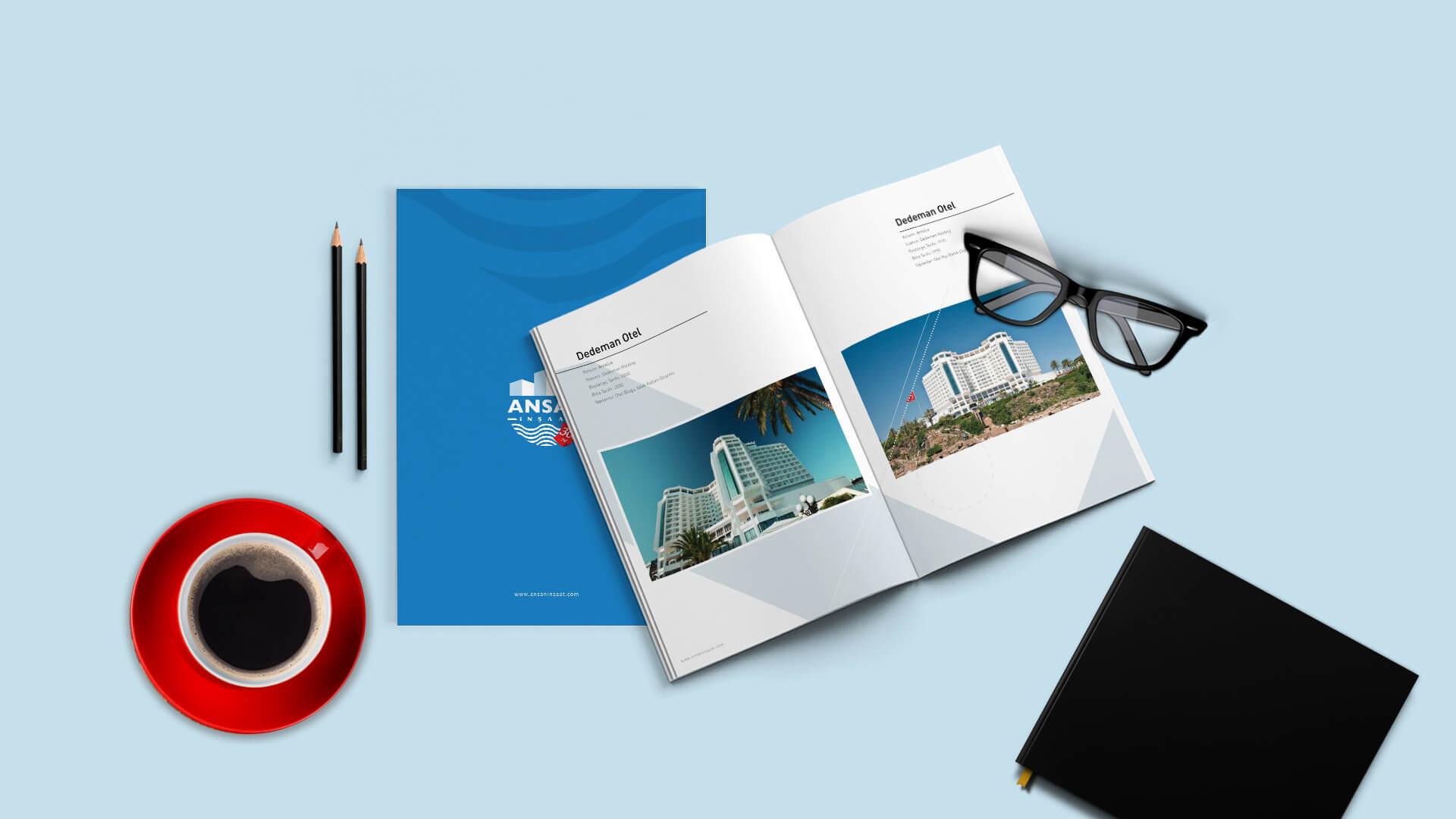 Ansan İnşaat / Katalog Tasarımı