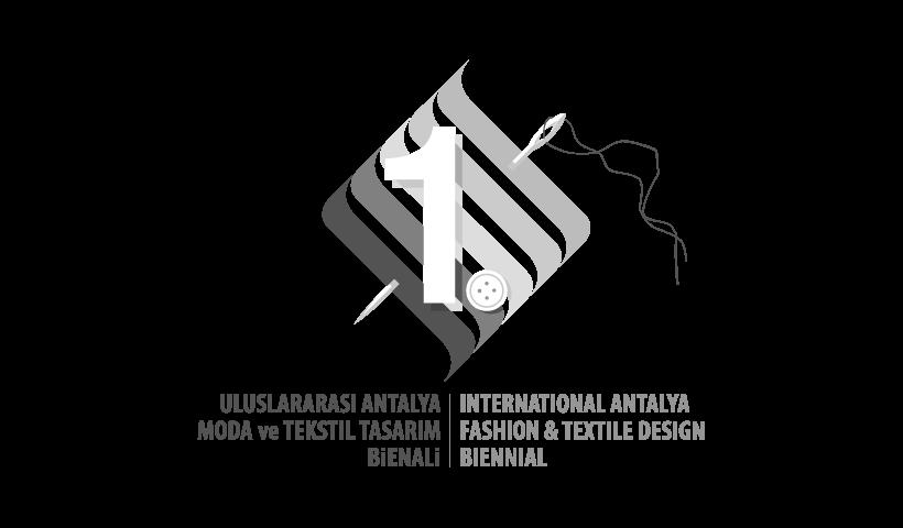 Uluslararası Antalya Moda ve Tekstil Tasarım Bienali logo