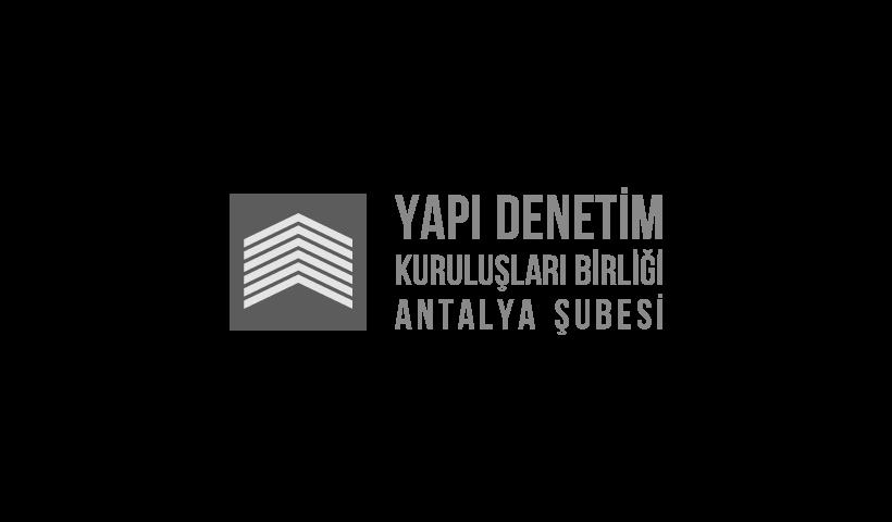 Yapı Denetim Kuruluşları Birliği Antalya Şubesi logo