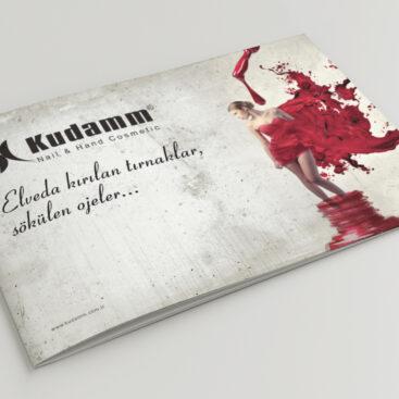 Kudamm Antalya katalog tasarımı