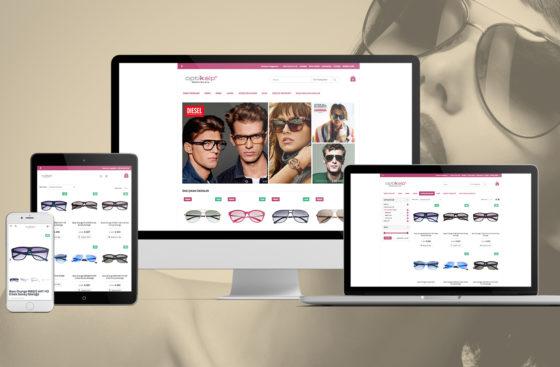 Optikalp / E-Ticaret Sitesi