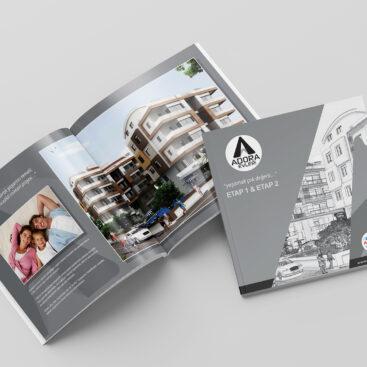 Adora Evleri / Antalya Katalog Tasarımı