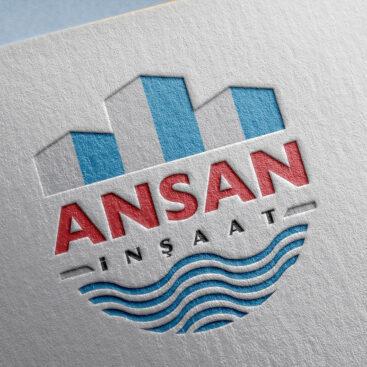 Ansan İnşaat / Antalya Logo Tasarımı