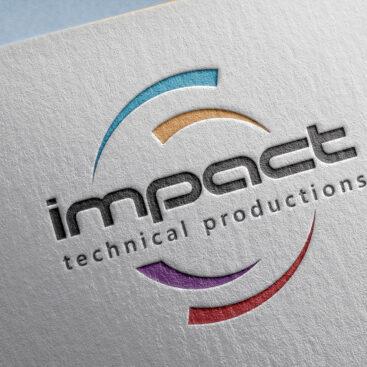 Impact Technical Productions / Antalya Logo Tasarımı