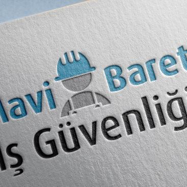 Mavi Baret İş Güvenliği / Logo Tasarımı