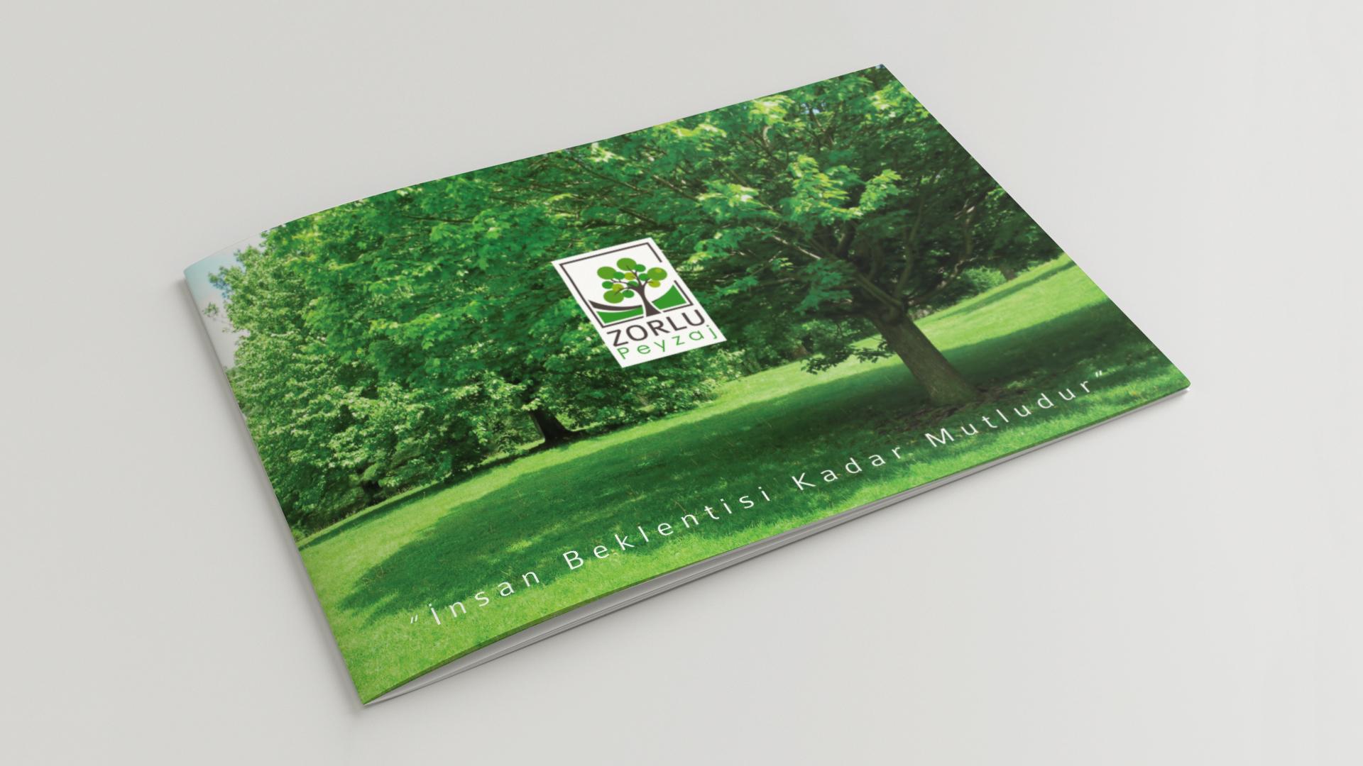 Zorlu Peyzaj / Antalya Katalog Tasarımı