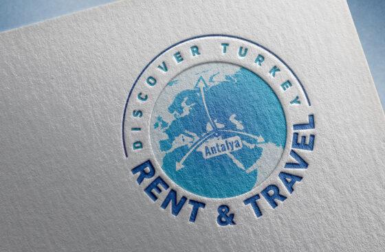 Rent & Travel / Antalya logo tasarımı