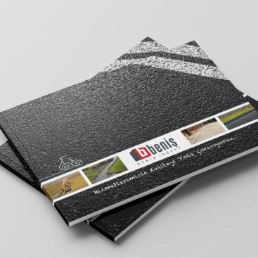 Beniş İnşaat Antalya e-katalog tasarımı