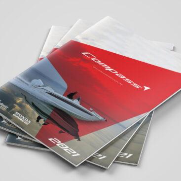 Compass Boats Antalya katalog tasarımı